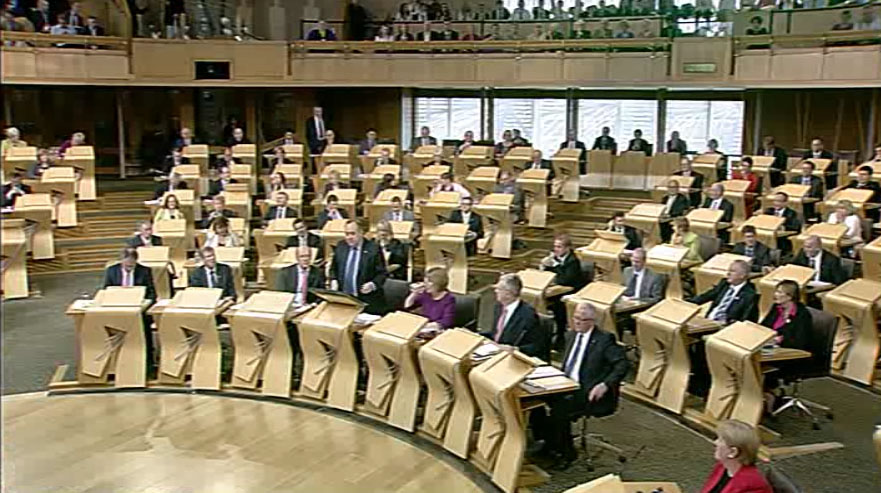 First Minister's Questions 30/01/14
