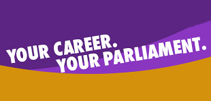 Your career your parliament - logo