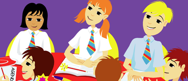 An image from the School Council interactive resource
