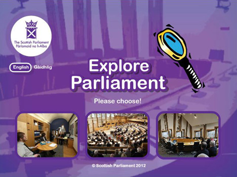 Explore the Parliament Game