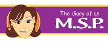 Diary of an MSP Logo