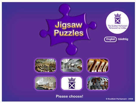 Jigsaw Game