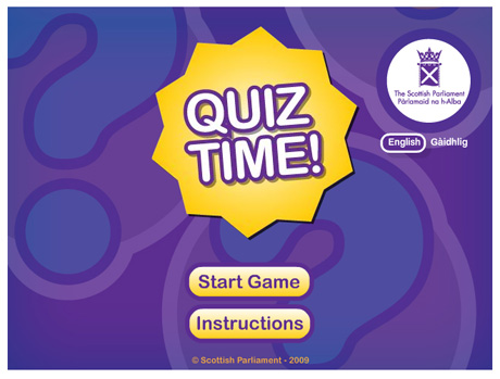 flash games quiz