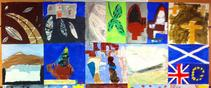 Image of children's artwork about the Parliament