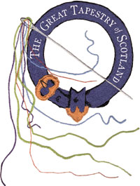 The Great Tapestry of Scotland logo