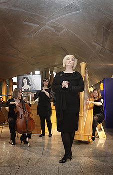 Scottish Opera brought 'A Little Bit of Tosca' to the Scottish Parliament on Thursday 17 May 2012.