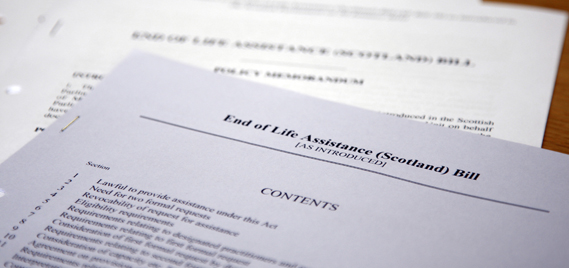 Documents giving guidance on Bills