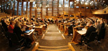 Debating Chamber from behind