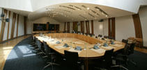 Image showing a committee room in the Parliament