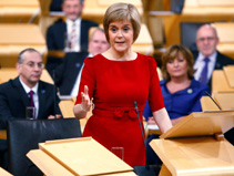 Nicola Sturgeon speaking in the Chamber 19 Nov 2014