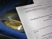 The Graduate Endowment Abolition Bill and Mace