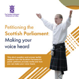 Petitioning the Scottish Parliament leaflet