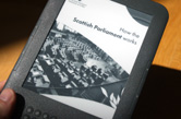 How the Scottish Parliament Works eBook on an eReader