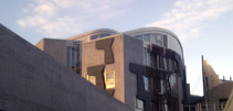 The Scottish Parliament building