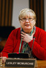 Lesley McMurchie gives evidence to the Welfare Reform Committee